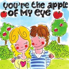 Meisje en jongen zijn elkaars oogappel- Greetz