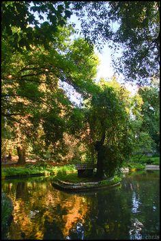 The Saxon Garden Lublin, Poland