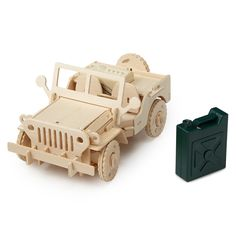 REMOTE CONTROL SUV KIT   Sustainable Wood, Puzzle, Remote Control, Batteries Included, UncommonGoods   UncommonGoods