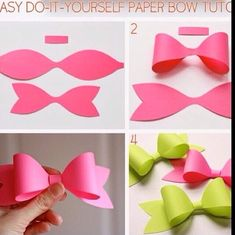 How To Make Bows At Home