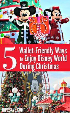 5 Wallet-Friendly Ways to Enjoy Disney World During The Christmas Season