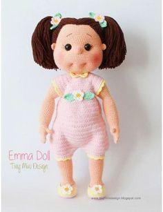 Онлайн #1.Кукла Эмма   ¤ПоВязунчик¤