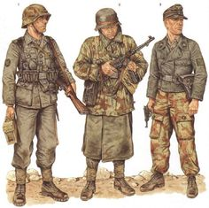 German Soldiers Battle of Italy 1943-44