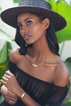Mataano's Resort 2016 Campaign  Photographer: Sara Melotti Model: Senait Gidey Makeup: Beauty By Beau Hair: Ro Morgan Hats: Orlando Palacios
