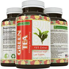 Green Tea Weight Loss Pills Burn Belly Fat Vegan Supplements For Men And Women Contains 350 mg EGCg With Antioxidant And Polyphenols To Complement Your Weight Loss Plan By California Products ** More info could be found at the image url. Green Tea For Weight Loss, Weight Loss Water, Weight Loss Drinks, Best Weight Loss, Green Tea Extract Pills, Medical Weight Loss, Fat Burning Drinks, Diet Plans To Lose Weight, Losing Weight