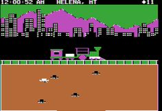 Agent USA on the Commodore 64. Beware the Fuzzbomb!