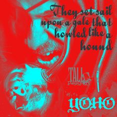 """""""They set sail upon a gale that howled like a hound."""" From Yo-Ho!, the new single by Tall Piggy coming 10.28.16. https://www.instagram.com/p/BKlFmrmAaZJ/?taken-by=tallpiggy #YoHo #NewSingle #Pirates #NewMusic #Gale #Hound"""