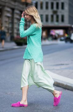 """These """"Awkward"""" Colour Combinations Just Got Adopted by Fashion People via @WhoWhatWearUK"""
