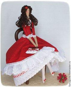 Куклы Тильды ручной работы. Ярмарка Мастеров - ручная работа Тильда Катерина. Handmade.
