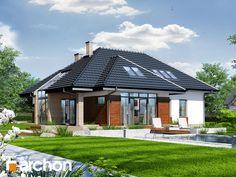 projekt Dom w pigwowcach 3 widok 1