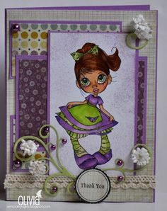 Loves Rubberstamps Design Team Member - Olivia Marmara - Challenge 34 - Use Dies or Punches