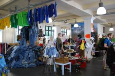 Berlin - the vintage clothes shop where you pay by the kilo