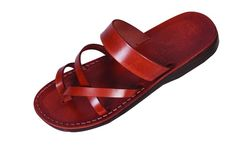 d4ae511dad486c Buy Thin-Banded Slip-on Handmade Leather Biblical Sandals - Ruth