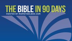 Read the Bible through in 90 days plan