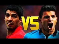 Luis Suarez vs Sergio Aguero Dribbling, Passes and Goals Who is The Best 2014 HD