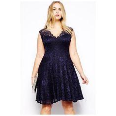 Casual Black Lace Plus Size - Fierce Finds Mobile Boutique  - 1