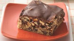 Chocolate-Caramel Layer Bars