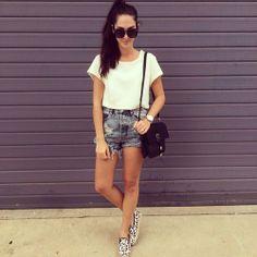 really simple look.. love it!