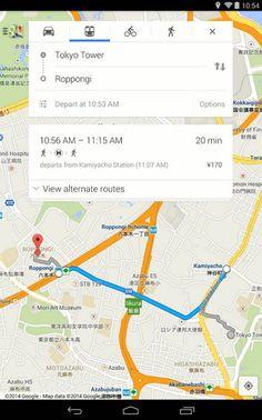 En Google Maps para Android ahora se pueden ver resultados de búsquedas tanto en el mapa, como en una lista.