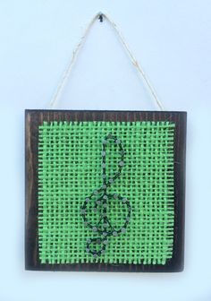 Peaceful Music String Art Home or Office by Edgeofthewoodsart