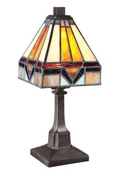 Buy the Quoizel Vintage Bronze Direct. Shop for the Quoizel Vintage Bronze Tiffany 1 Light Tall Table Lamp with Tiffany Glass Shade and save. Home Design, Küchen Design, Design Table, Tall Table Lamps, Tiffany Table Lamps, Fine Art Lighting, Lighting Ideas, Outdoor Lighting, Quoizel Lighting