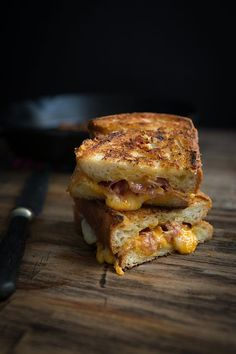 Grilled Ham and Cheese with Rosemary Mayo    Chez Us