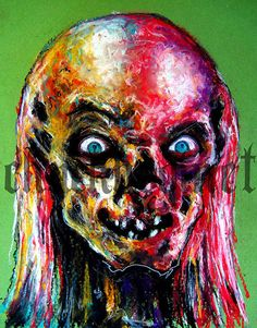 Print 8x10  The Crypt Keeper  Tales from the Crypt by chuckhodi, $8.00