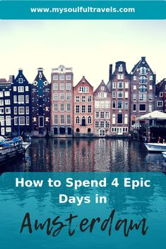 How to Spend 4 Epic Days in Amsterdam - My Soulful Travels Places To Rent, Best Places To Travel, Visit Amsterdam, Amsterdam Travel, Hotel Amsterdam, Restaurants, Adventurous Things To Do, Dam Square, The Neighbor