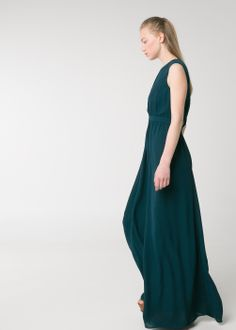 PREMIUM - Vestido debruns com pormenores abertos