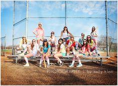 Girls' softball ... or senior rep shoot.