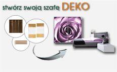 Skorzytaj z konfiguracyjna DEKO i stwórz swoja szafę DEKO