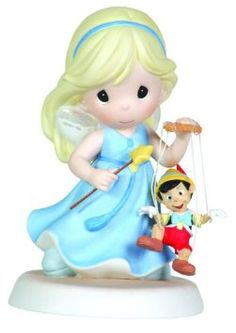 Find Pinocchio-inspired figurines along with other Disney Showcase Collection figurines, ornaments, snow globes and more for all of life's precious occasions at Precious Moments. Disney Precious Moments, Precious Moments Figurines, Disney Figurines, Collectible Figurines, Pinocchio, Biscuit, Porcelain Dolls For Sale, Blue Fairy, Disney Home