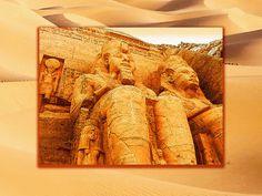 'Die Felsentempel von Abu Simbel' von Dirk h. Wendt bei artflakes.com als Poster oder Kunstdruck $18.03