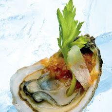 Oysters with Bloody Mary Granita Recipe