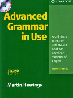 Advanced Grammar in Use + CD - Hewings Martin Cambridge Advanced, Advanced Grammar, In Use, Writing A Book, How To Get, Student, Messages, Books, Nap