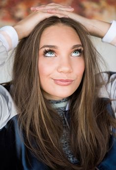 """""""  Maddie Ziegler photographed by Jake Rosenberg for The Coveteur (2016). """""""