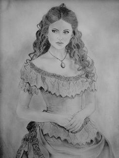 Drawing: Katherine Pierce drawing