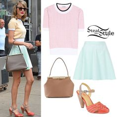 Taylor Swift: Pastel Skirt & Crop Top - Taylor Swift Style Steal