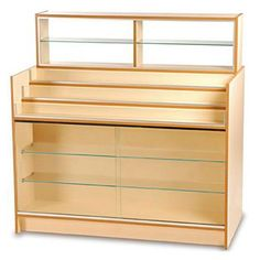 Pharmacy display unit - available in a range of colours and wood finishes.#pharmacy #shopcounters #counters