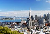 View of San Francisco from Treauser Island