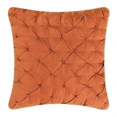 Tufted Pillow, Tangerine