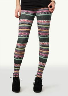 00d7c36fbb626 Tribal Weave Legging. Madison StyleTight LeggingsYoga LeggingsColorful LeggingsRue  21Fashion FabricPrinted ...