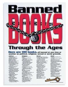 I have this poster. Most of the books on this list are required reading all four years of high school.