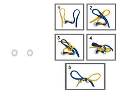 Shoe Lace Tying - 2 Loop Method