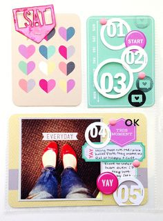 ADORABLE Hybrid Pages by Card Stock Option using Digital Products by Peppermint Creative | Card Stock Option Blog