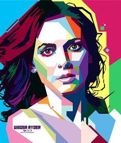 .::: Winona Ryder in WPAP :::. on Behance