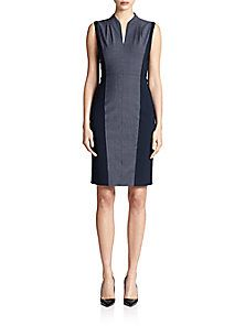 Elie Tahari - Amabel Colorblock Dress