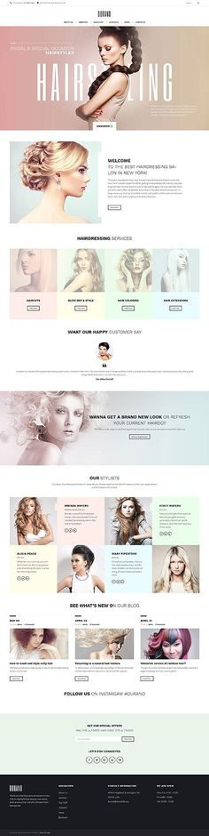 Durano Hair Stylist Web Design | Fivestar Branding – Design and Branding Agency & Inspiration Gallery