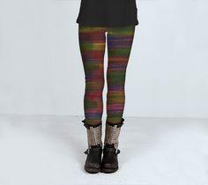 stripes by Angela Bruno (Leggings) - Art of where #leggings, #trousers, #clothing, #women, #girl, #artofwhere