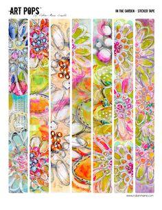 ART POPS™ Sticker Tape - In the Garden Collection